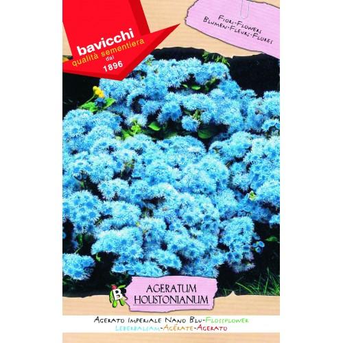 Ageratum Seed, Imperial Nano Blue