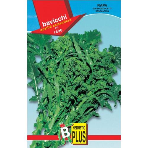 Rapini - Broccoli Raab Seeds, Sessantina