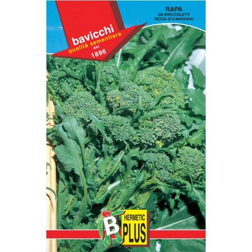 Rapini - Broccoli Raab Seeds, Riccia di S. Marzano