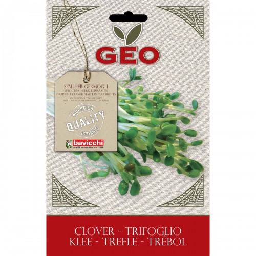 Clover Organic Seed For Sprouts 70 gram Packet